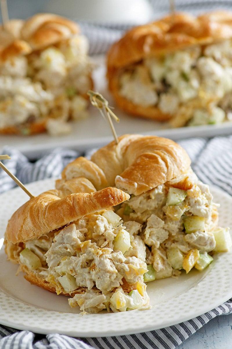 Chicken Croissants