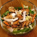 Chinese Chicken and Walnut Salad Pic