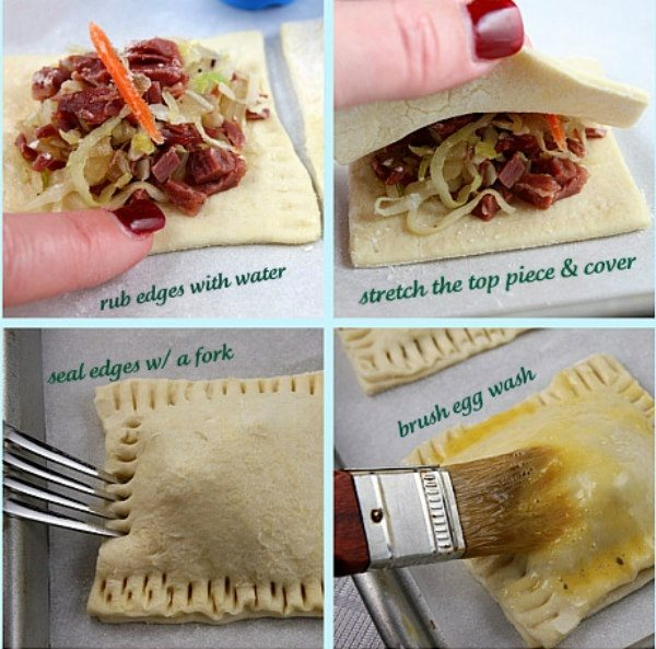 how to make corned beef and cabbage turnovers