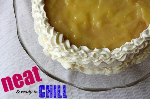 lemon truffle cake