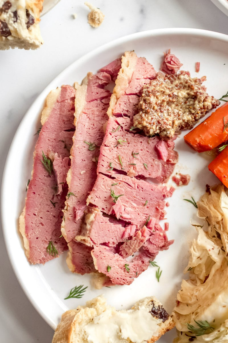 serving of Guinness Corned Beef
