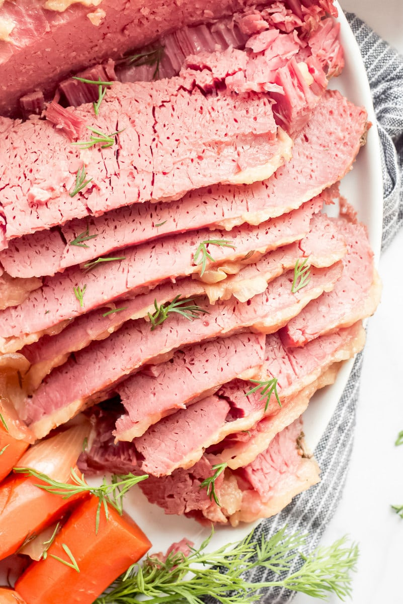 Slow Cooker Guinness Corned Beef