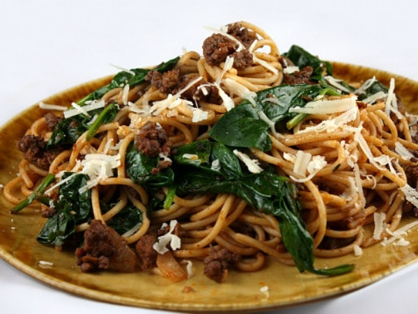 Lamb-Spaghetti-with-Spinach