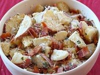 Lemon Basil Roasted Potato Salad