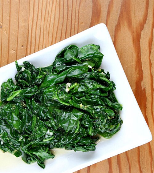 Lemon-Thyme Spinach