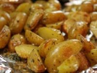 Lemony- Salt-Roasted Potatoes
