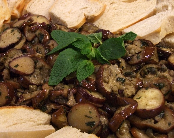 Marinated Eggplant With Capers And Mint Recipes — Dishmaps