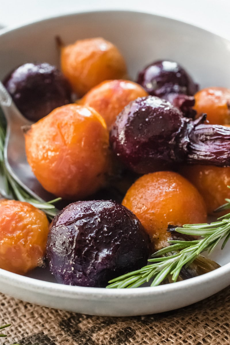 Bowl of Roasted Beets