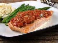 Salsa Roasted Salmon 3