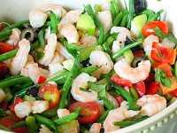 Shrimp and Vegetable Salad Pic