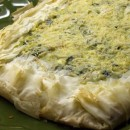 Spinach, Feta and Pine Nut Phyllo Tart