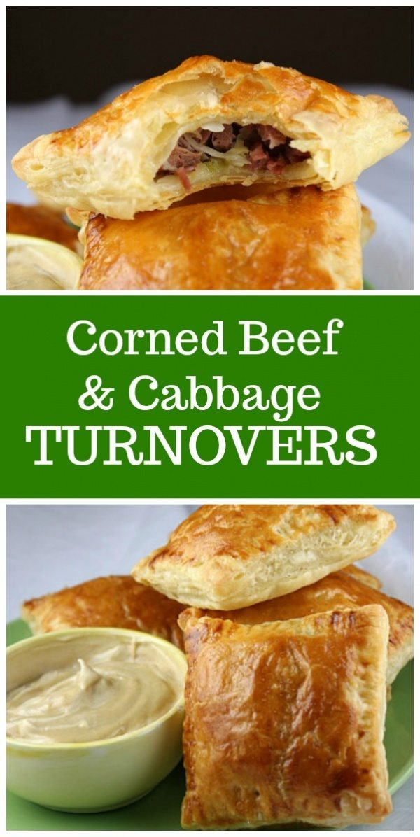 corned beef and cabbage turnovers