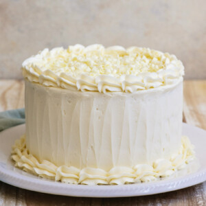 Homemade Wedding Cake.White Wedding Cake Recipe Girl