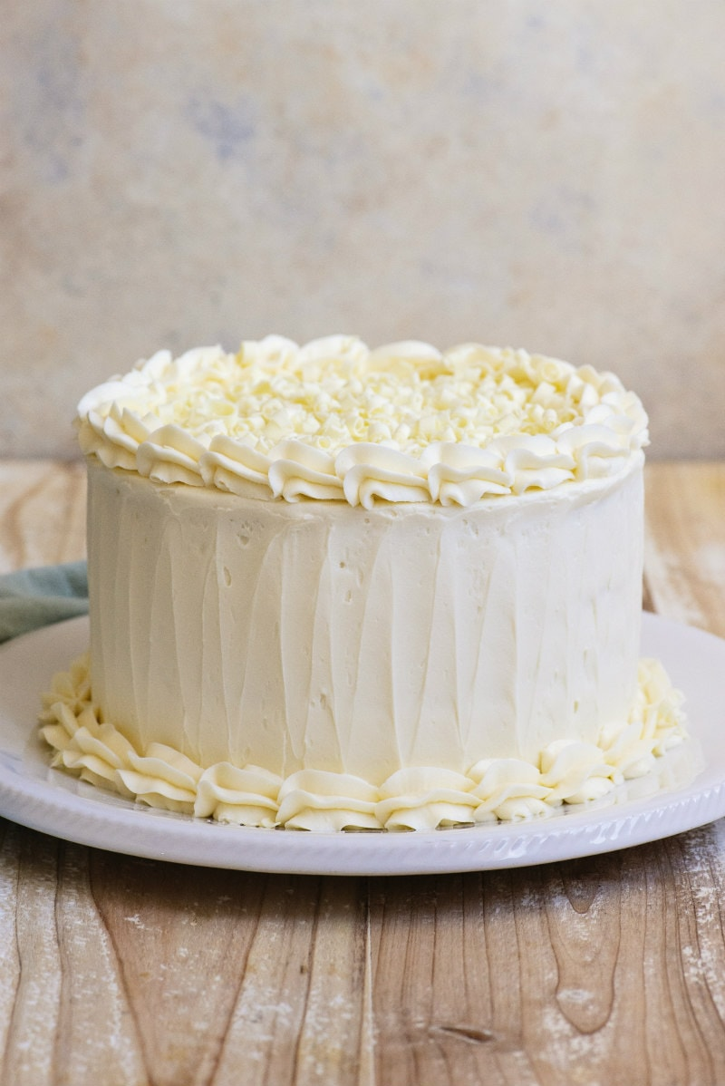 Wedding Cake Recipe.White Wedding Cake