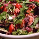 Mesclun Salad with Lemon Dressing