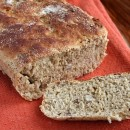 Orange Pecan English Muffin Bread
