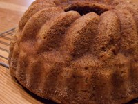 Snickerdoodle Bundt Cake With Cinnamon Chips