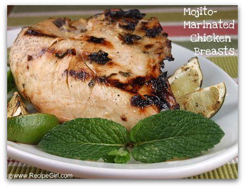 Mojito- Marinated Chicken Breasts