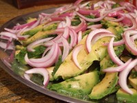 Avocado and Onion Salad