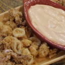 Fried Calamari with Spicy Mayonnaise