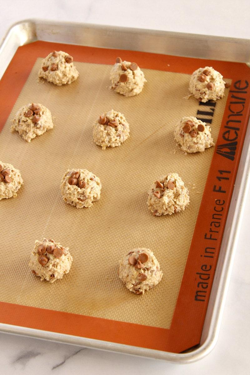 loaded oatmeal cookie dough