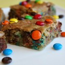Samoa M&M Blondies