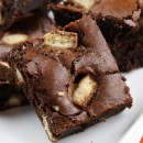 Twix Bar Brownies