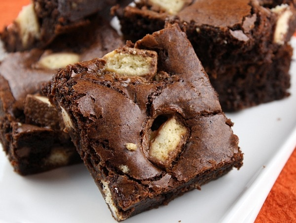 Twix Bar Brownies
