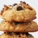 Banana Walnut Chocolate Chip Cookies