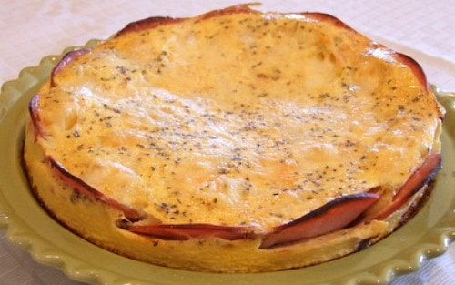 Brie And Canadian Bacon Quiche Recipe — Dishmaps