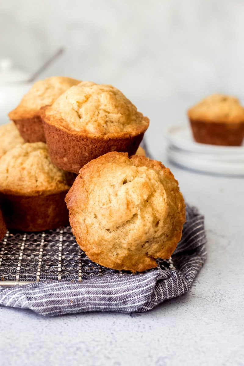 Brown Sugar Banana Muffins