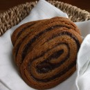 Chocolate Swirled Peanut Butter Cookies