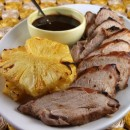 Glazed Pork Tenderloin with Pineapple 1
