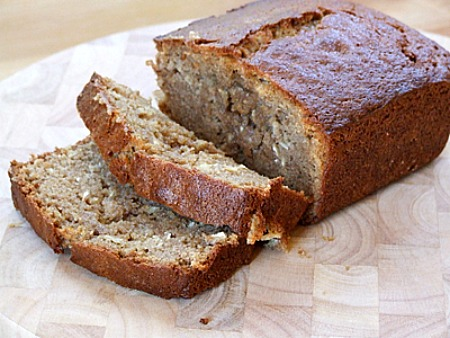 how to make banana bread with applesauce