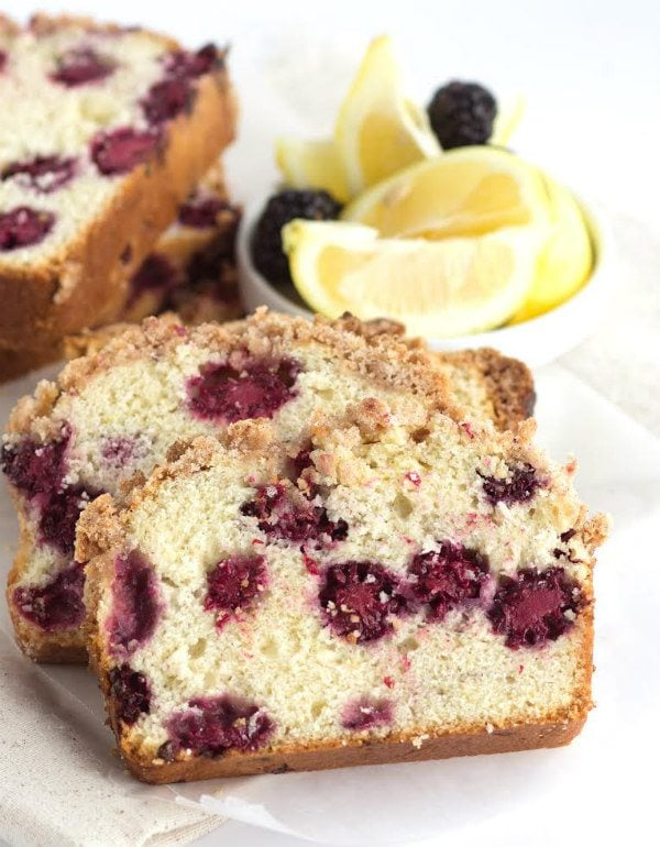 Lemon Blackberry Bread Recipe