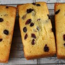 Lemon Cranberry Mini Loaves