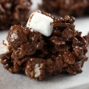 No Bake Rocky Road Cookies