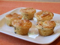 Orange Miniature Muffins