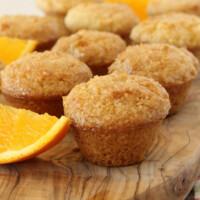 orange mini muffins