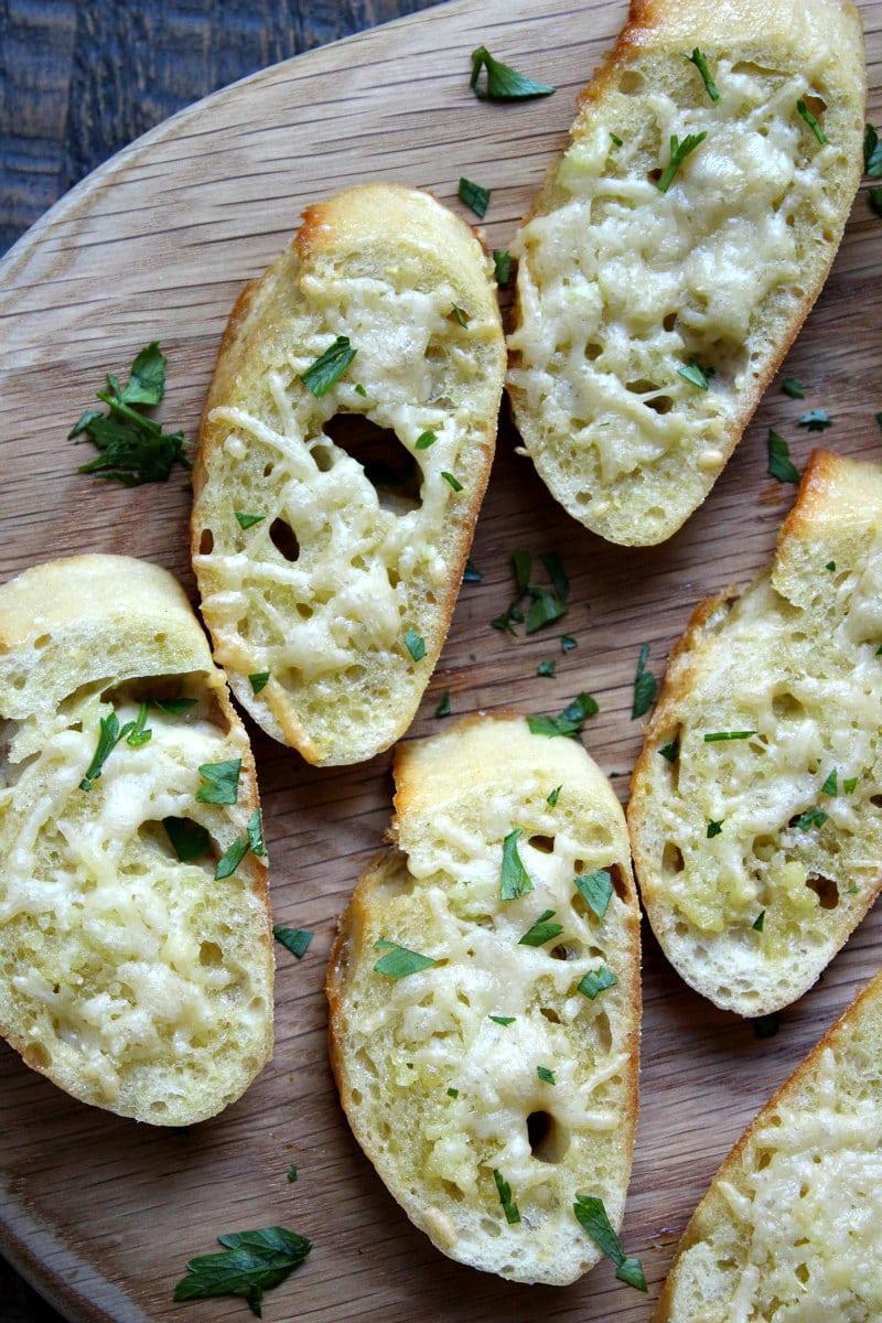Parmesan Baguette Croutes