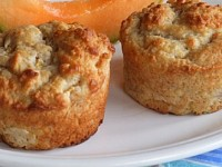 Peach & Brown Sugar Muffins