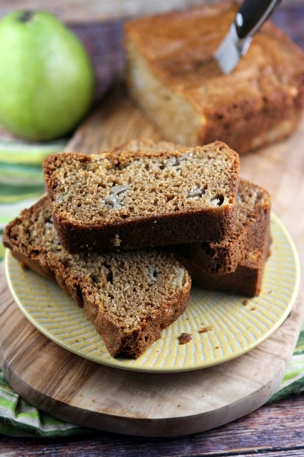 slices of Pear Bread