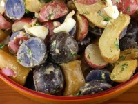 Red White Blue Potato Salad