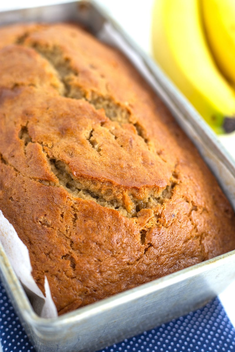 loaf of Best Banana Bread