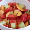 Fruit Salad with Lime Syrup