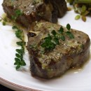 Lamb Chops with Lemon Mustard Butter