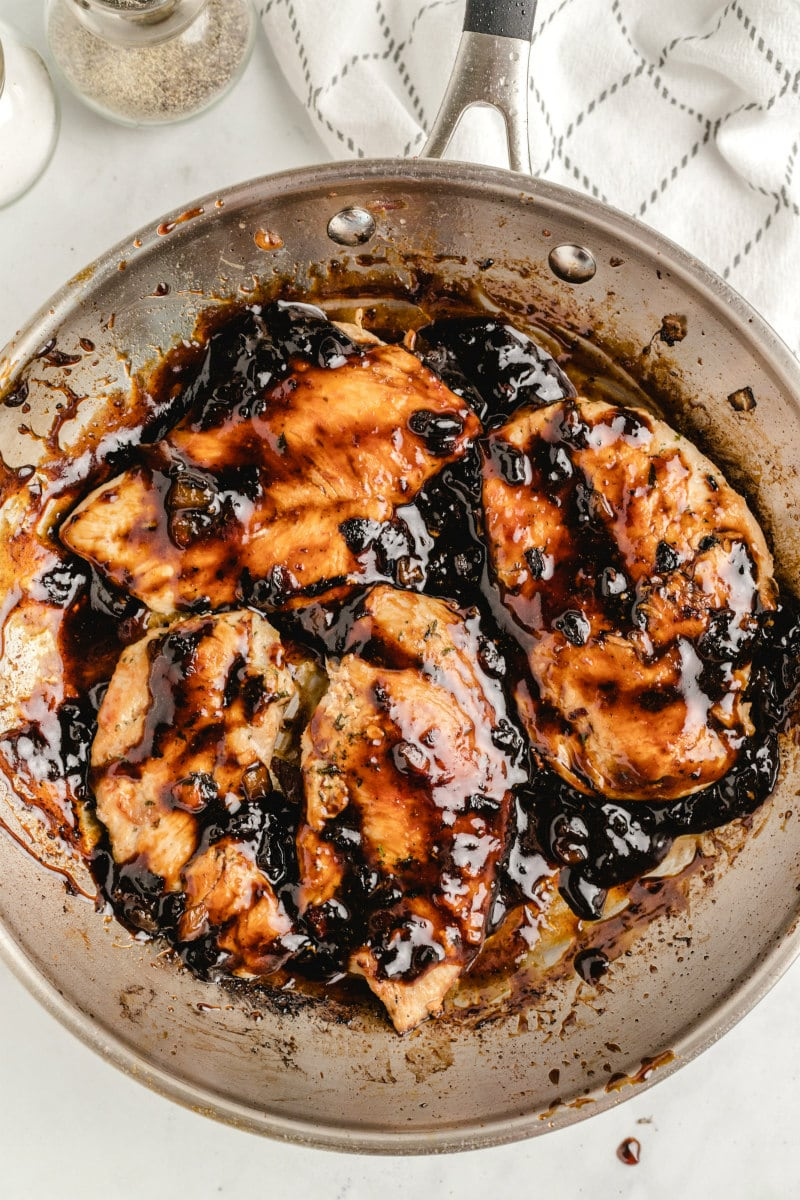 cooking apricot balsamic chicken