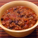 Black Bean Turkey Sausage Chili