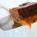 Fudgy Caramel Brownies