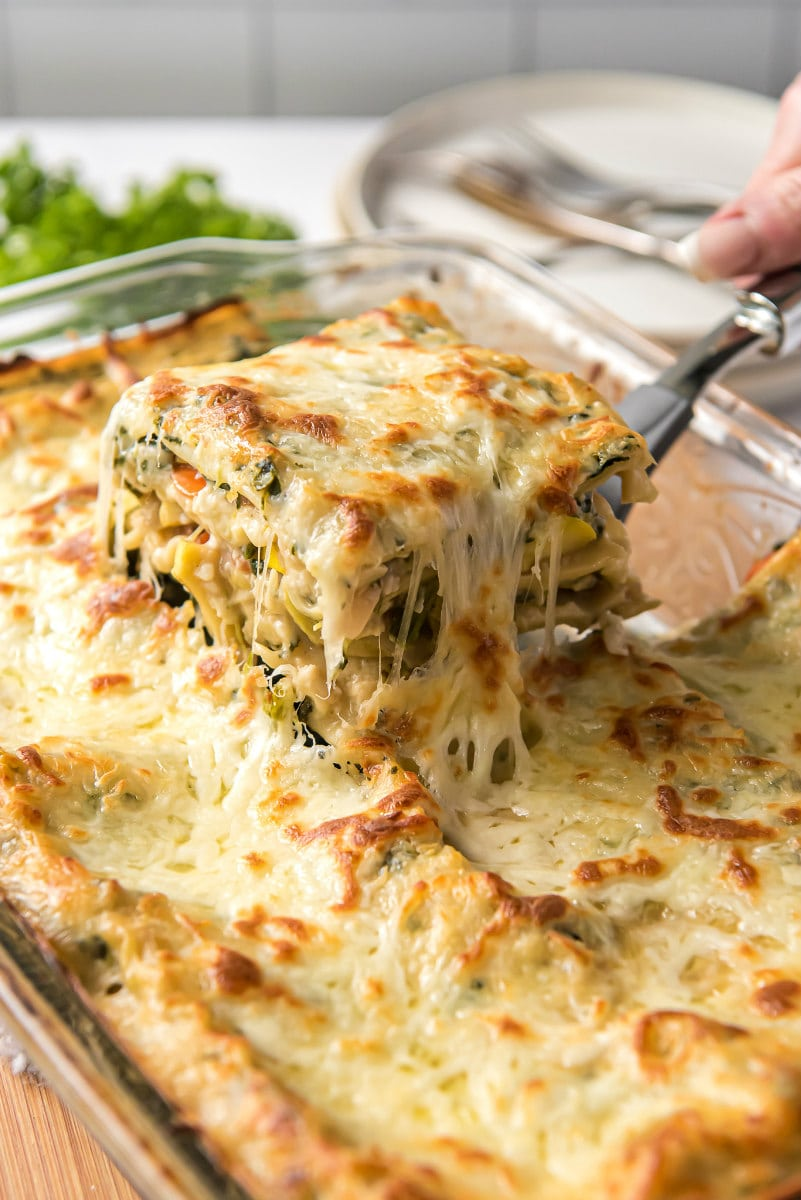 Garden Vegetable Lasagna Recipe Girl